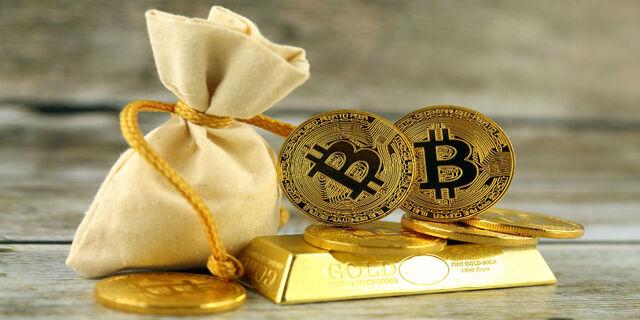 Инвесторы всё чаще предпочитают биткоин золоту